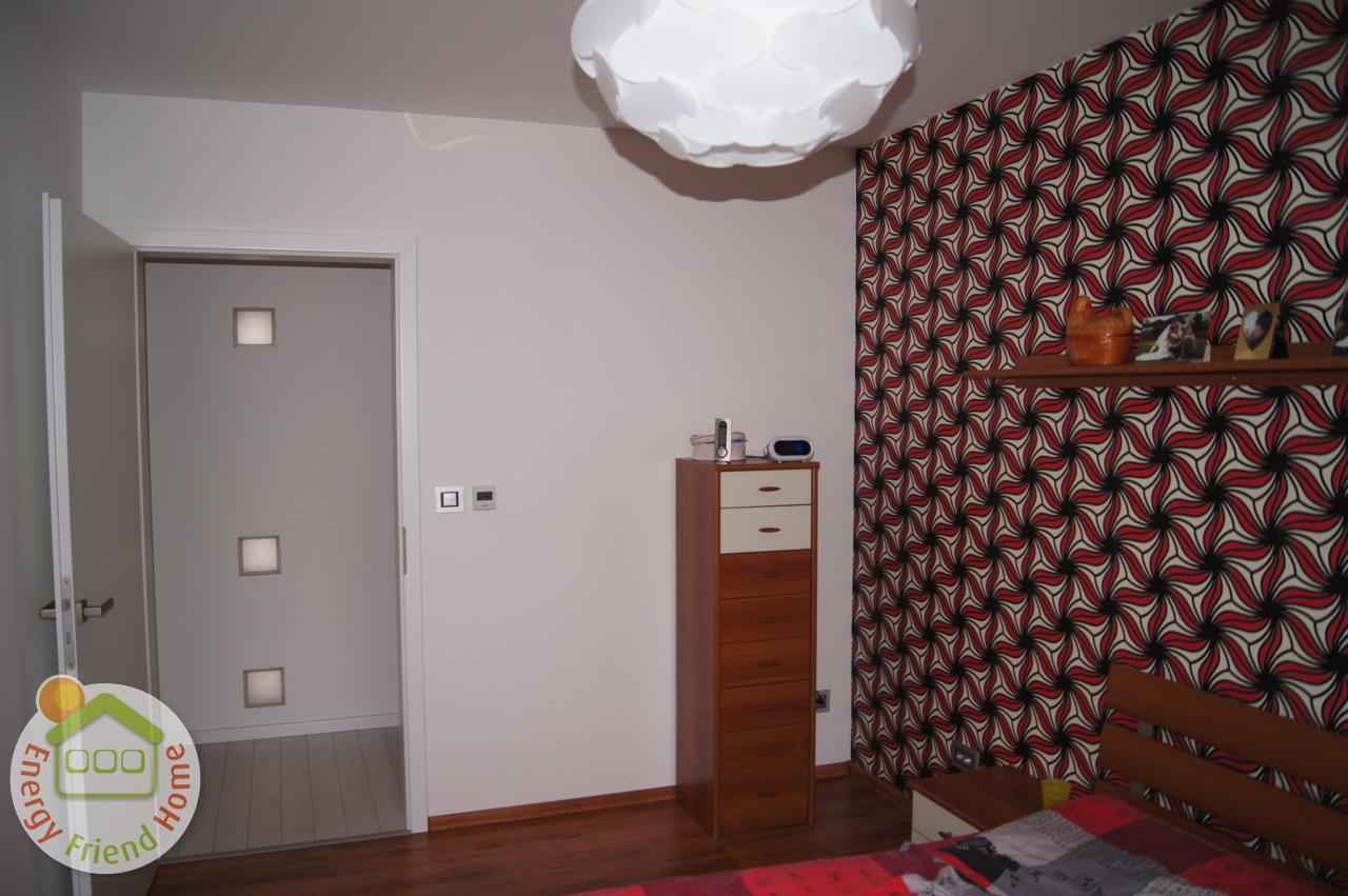 Minimál családiház szoba fotó